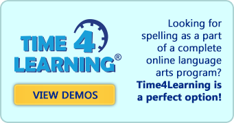 Looking for spelling as a part of a complete online language arts program? Time4Learning is a perfect option!