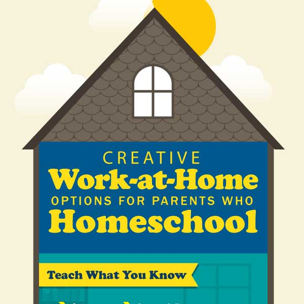 Time4Learning homeschool and work at home infographic