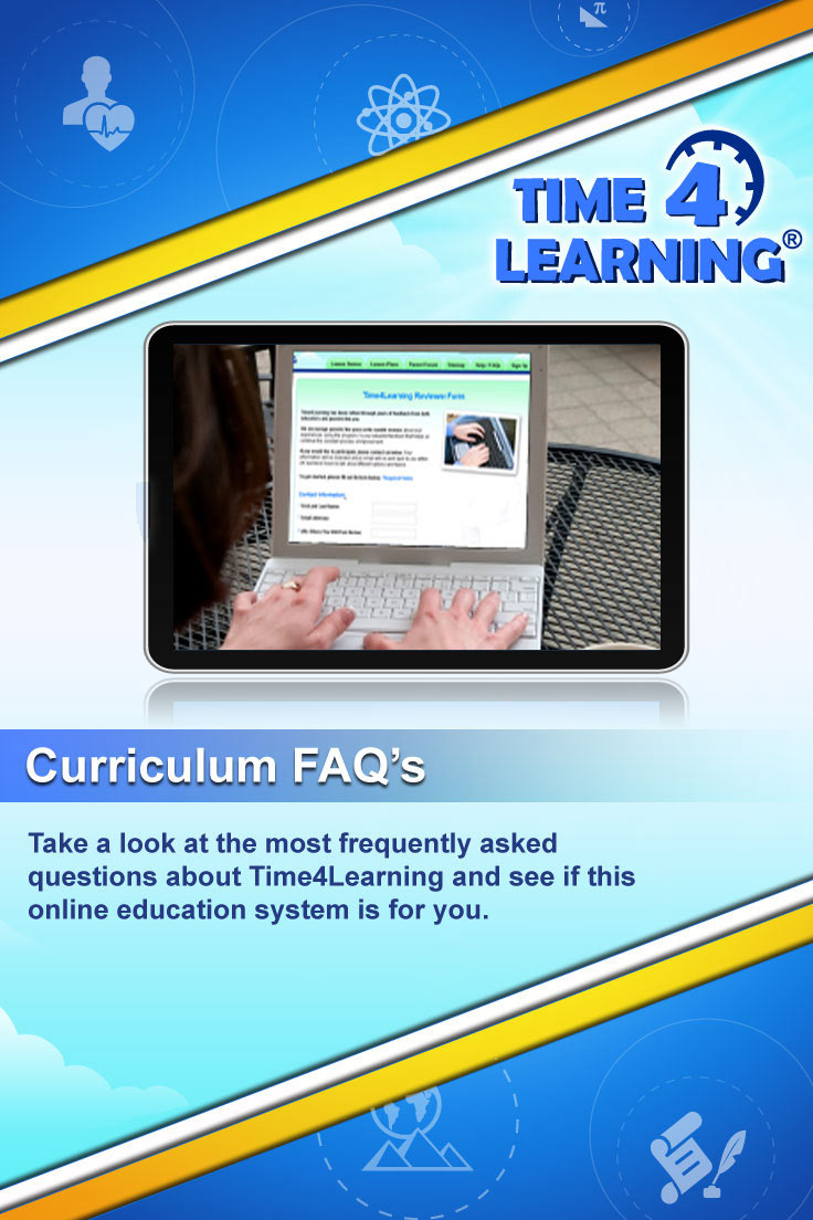 Take a look at the most frequently asked questions about Time4Learning and see if this online education program is for you.