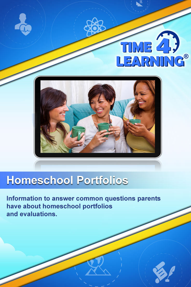 Information to answer common questions parents have about homeschool portfolios and evaluations.