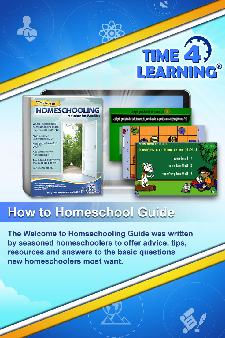 The Welcome to Homsechooling Guide was written by seasoned homeschoolers to offer advice, tips, resources and answers to the basic questions new homeschoolers most want.