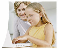 parent and child learn math online