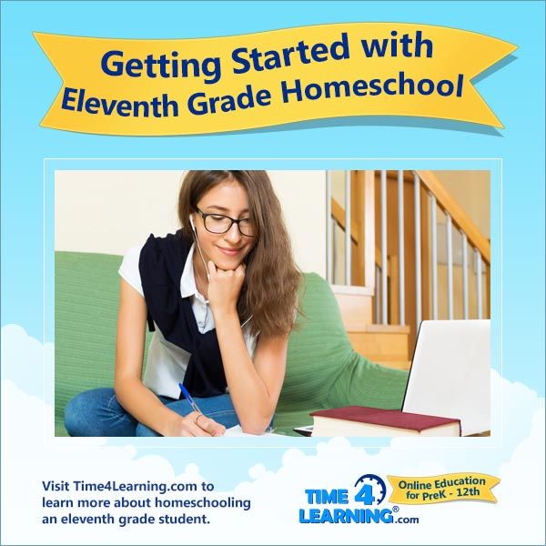 Getting Started with 11th Grade Homeschool