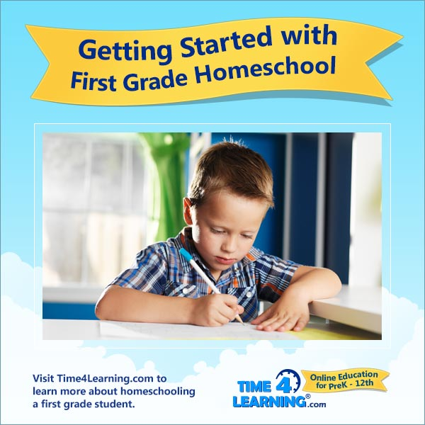 Getting Started with 1st Grade Homeschool