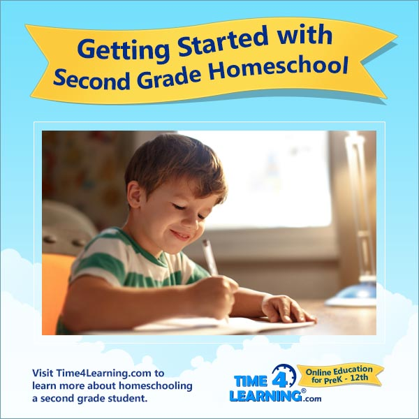 Getting Started with 2nd Grade Homeschool