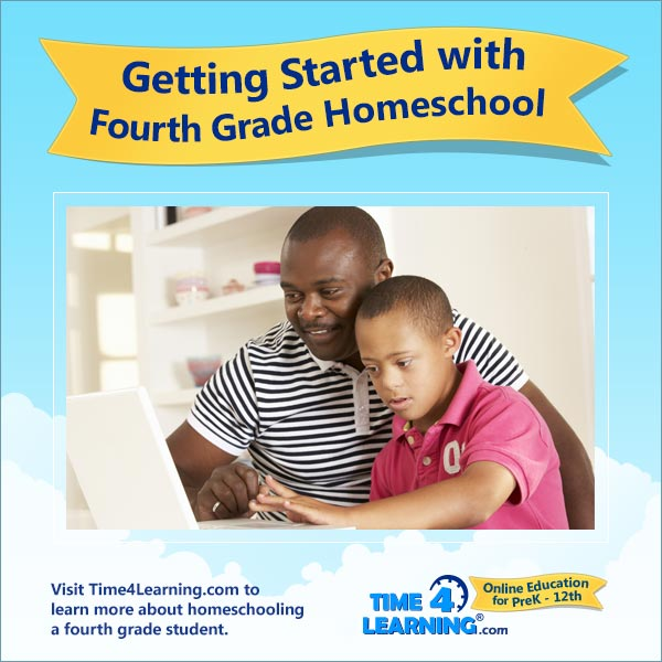 Getting Started with 4th Grade Homeschool