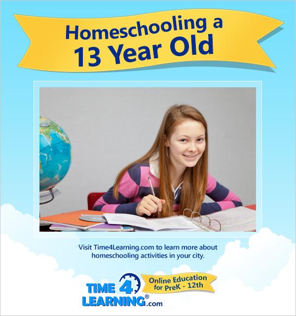 Homeschooling a Thirteen Year Old