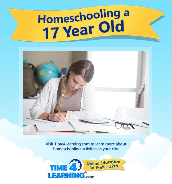 Homeschooling a Seventeen Year Old