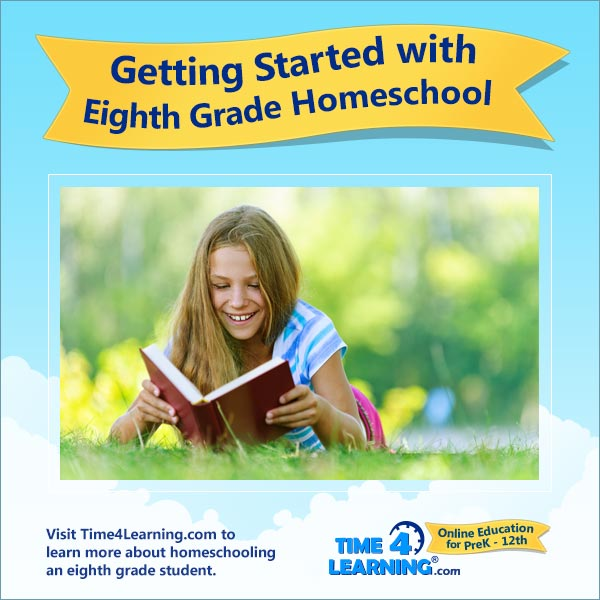 Getting Started with 8th Grade Homeschool