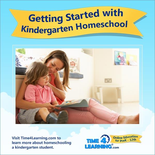 Getting Started with Kindergarten Homeschool