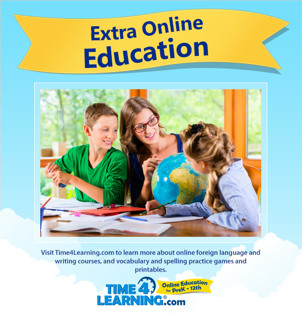 Time4Learning Curriculum Extra Education Options