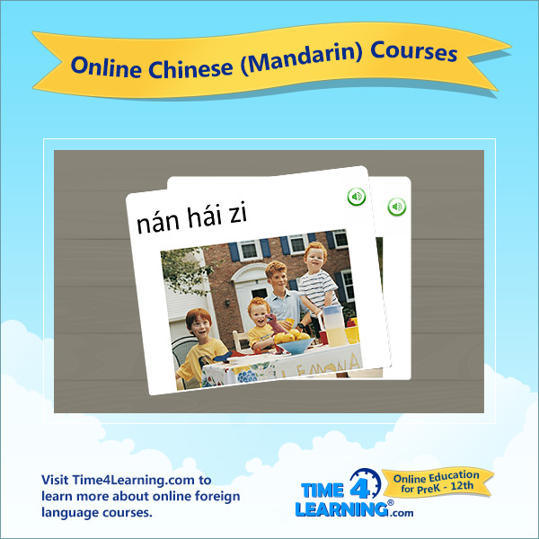 Online Chinese (Mandarin) Language Course